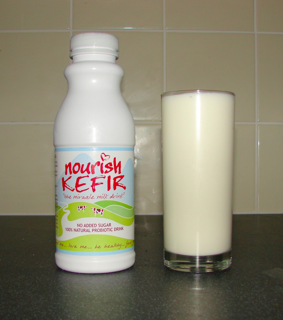 Nourish Kefir: lovely … milky milky!