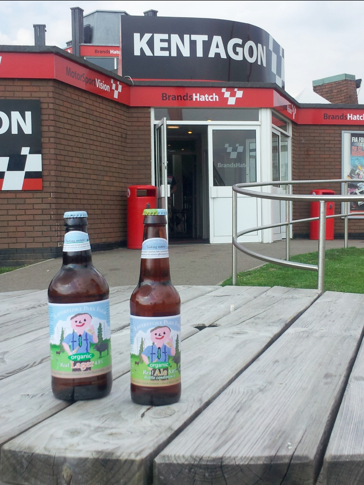 Beer in the fast lane: a champion's brew