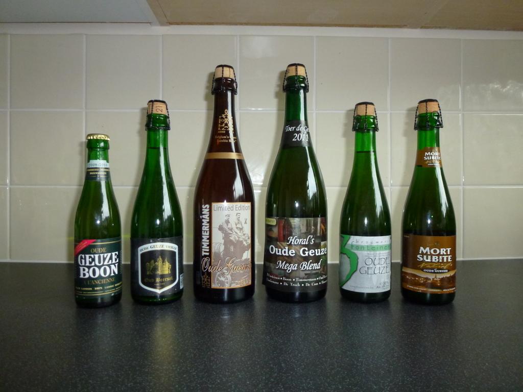 Belgian Oude Geuzes