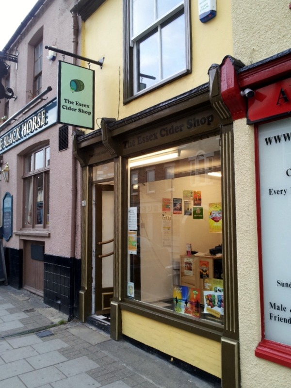 The Essex Cider Shop: getting fruity outeast