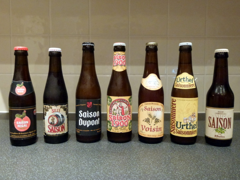 Four saisons in one day … and another three thenext