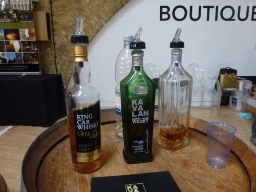 Kavalan gives a good account of Taiwan whisky making