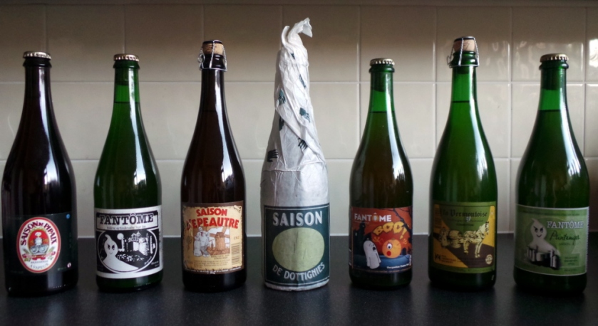 Saisons and farmhouse ales