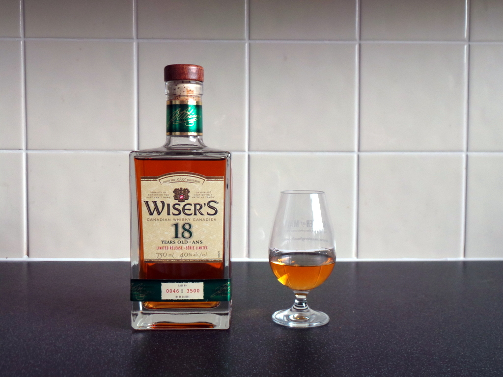 12 Drams of Christmas #3: Wiser's 18 YearsOld